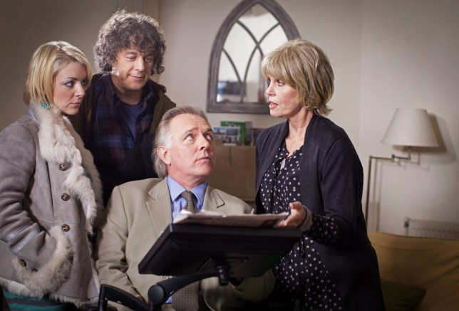 Jonathan Creek is set to return to our screens this Easter (Picture: BBC)