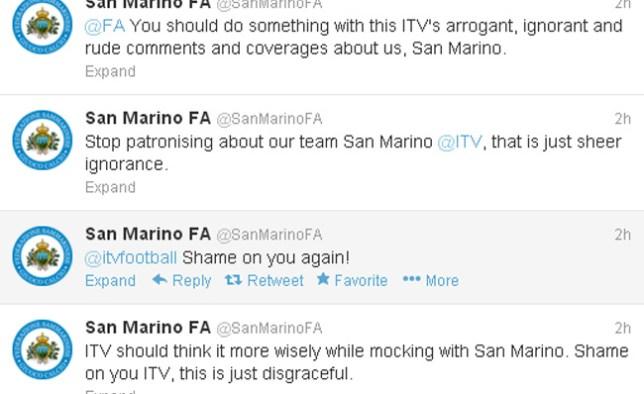 san marino tweets