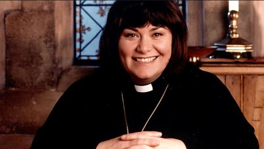 Dawn French stars as Geraldine in The Vicar Of Dibley (Picture: BBC)