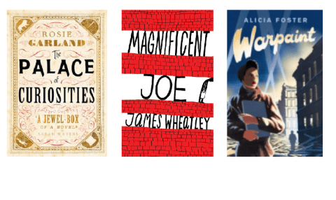 Shelfspace: The Palace Of Curiosities, Magnificent Joe and Warpaint