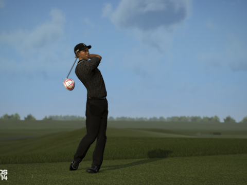Tiger Woods PGA Tour 14 has lots of substance but not much style