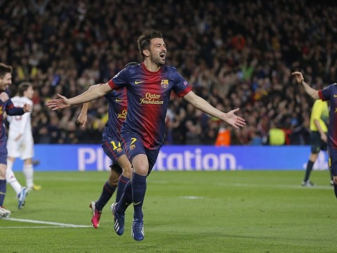 The Tipster: David Villa can ease Barcelona past PSG in Nou Camp thriller