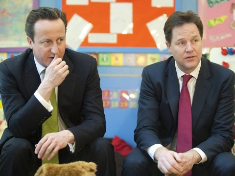 Nick Clegg insists he and David Cameron will see through coalition to 'finish what we started'