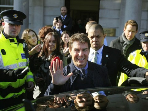 Ceremony held in Dublin to celebrate Tom Cruise's Irish roots