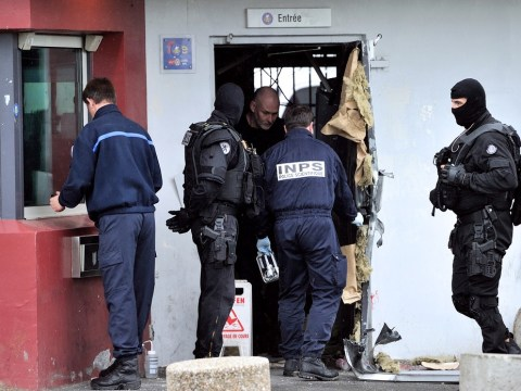 Armed robber on the run in France after explosive jail break