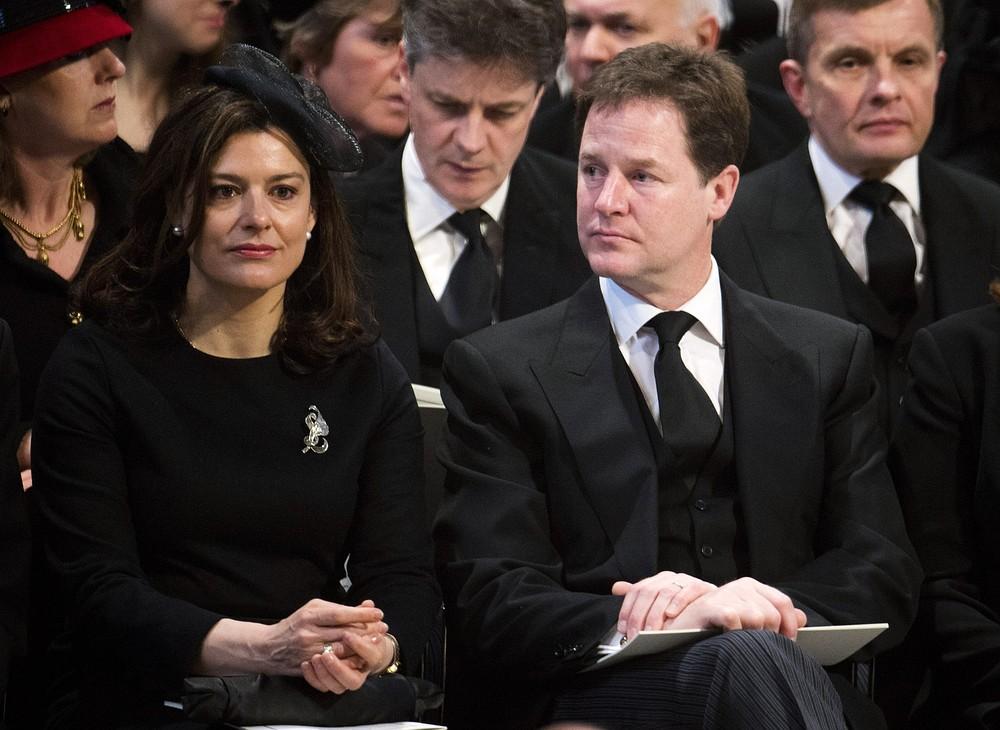 Nick Clegg dismisses David Cameron's 'we're all Thatcherites now' claim