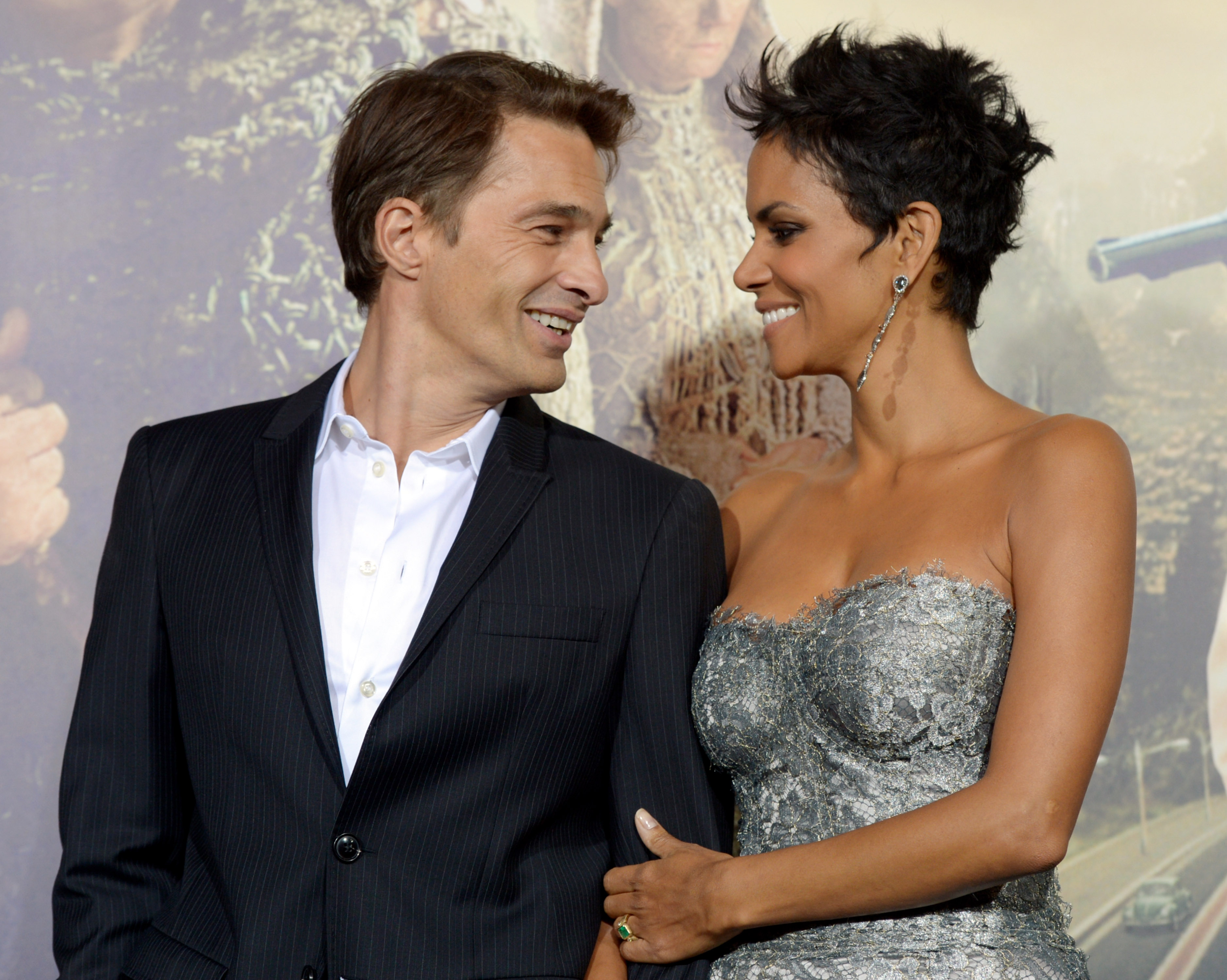 Halle Berry and fiancé Olivier Martinez 'expecting baby boy'