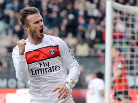 David Beckham 'set to extend playing career by signing new PSG deal'