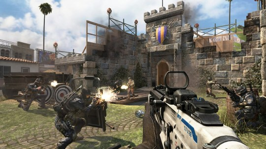 Call Of Duty: Black Ops II – Uprising review – Mob of the ... Call Of The Dead Map on call of duty map, black ops map, world at war map, no man's land map, mob of the dead map, call of duty dead ops,