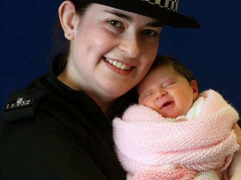 Abandoned baby Charlotte reunited with namesake police officer