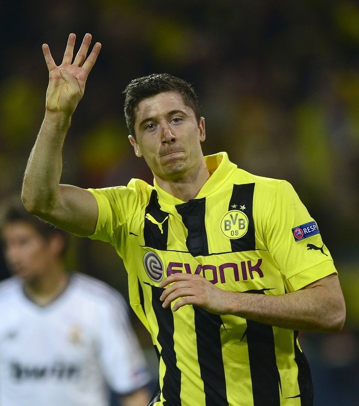 Manchester United could move for Dortmund striker Robert Lewandowski