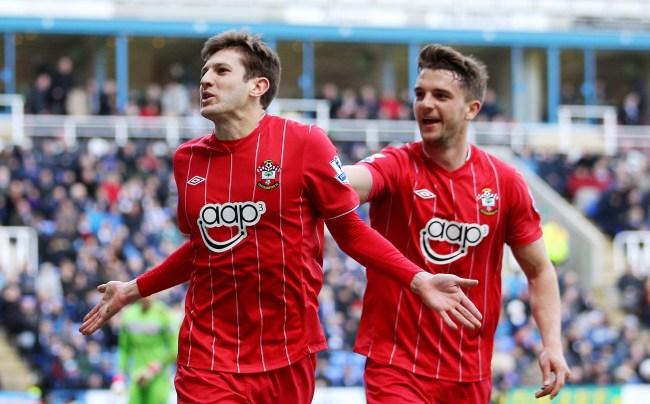Adam Lallana and Jay Rodriguez scored for Southampton
