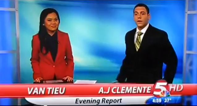 News anchor fired after swearing live on air in worst possible start to first day in job