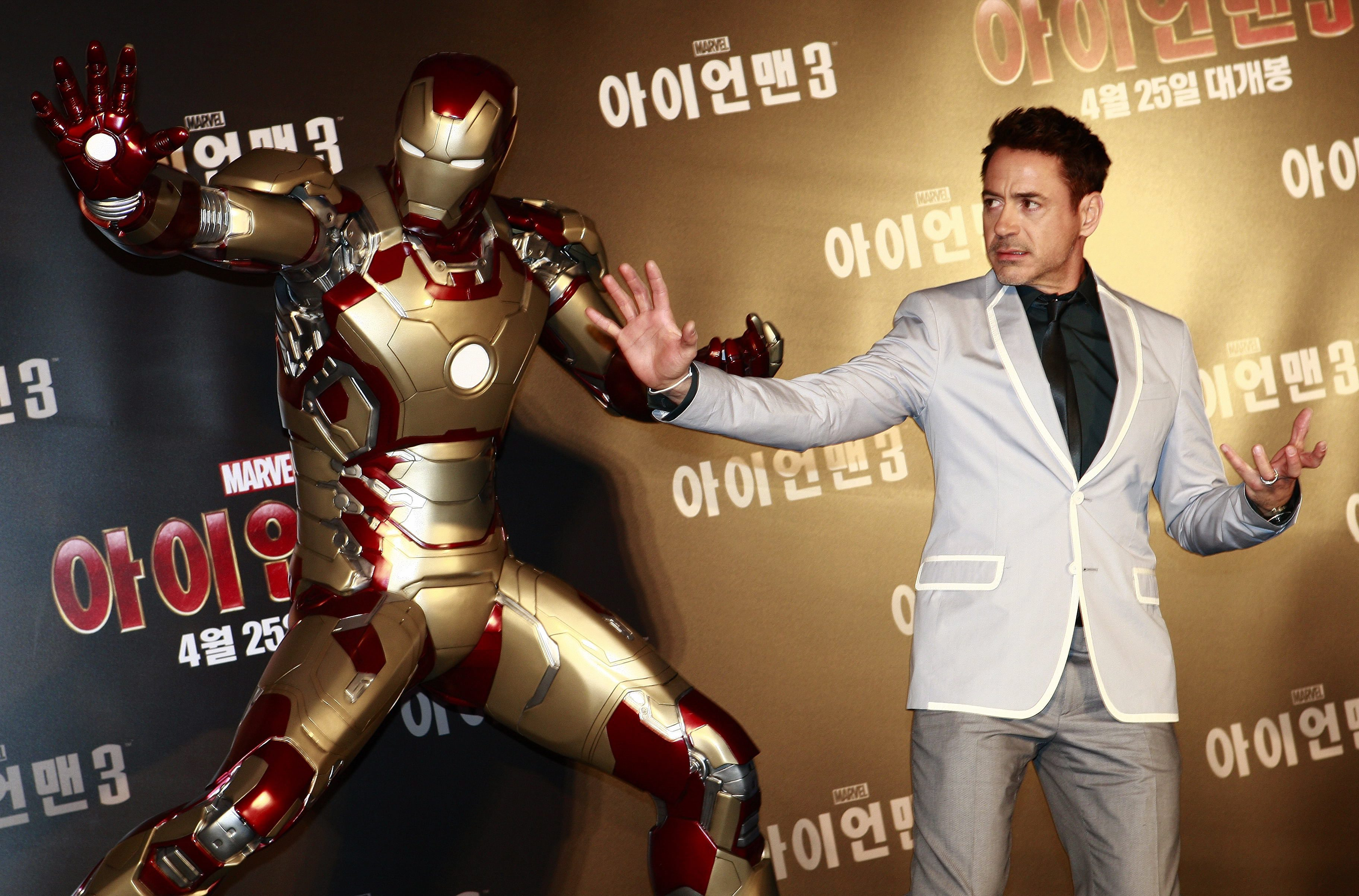 Robert Downey Jr reveals 'crazy' $50 million pay cheque for The Avengers