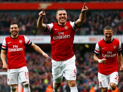 Gallery: Arsenal v Norwich City – 13 April 2013