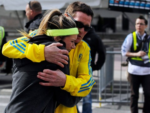 Boston marathon blasts: A beautiful day, two booms, a plume of smoke and then panic gripped the streets