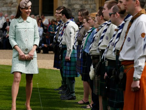 Be prepared for Kate Middleton's baby – scouts see Duchess of Cambridge's growing bump