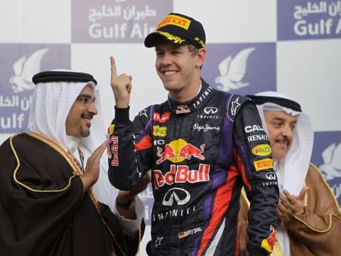 Gallery: Sebastian Vettel wins 2013 Bahrain grand prix