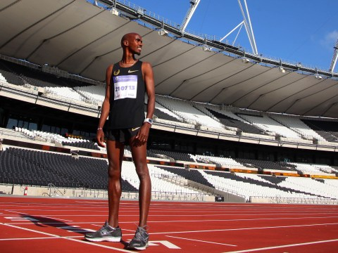 Mo Farah: Sometimes doing the Mobot can get annoying