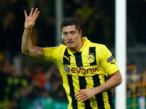 Robert Lewandowski scores four as Borussia Dortmund thrash Real Madrid 4-1
