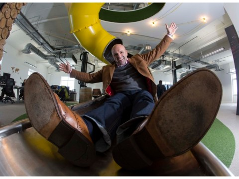 Gallery: The office with its own helter-skelter