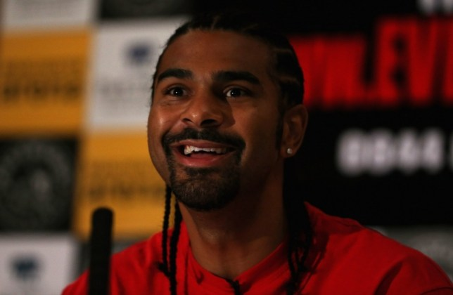 LONDON, ENGLAND - MARCH 28:  David Haye announces his return to the boxing ring at a press conference on March 28, 2013 in London, England.  (Photo by Andrew Redington/Getty Images)