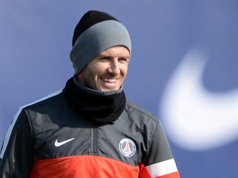 PSG president wants David Beckham's stay extended
