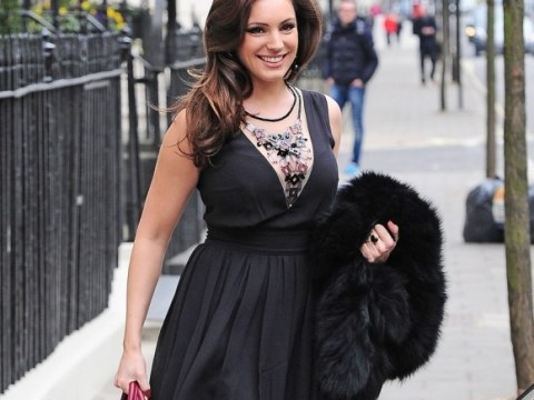 c42db4bdf3 Kelly Brook flashes the cleavage yet again as she heads to Celebrity Juice  studios