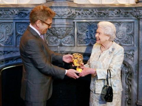 Queen receives honorary Bafta as 'most memorable Bond girl'