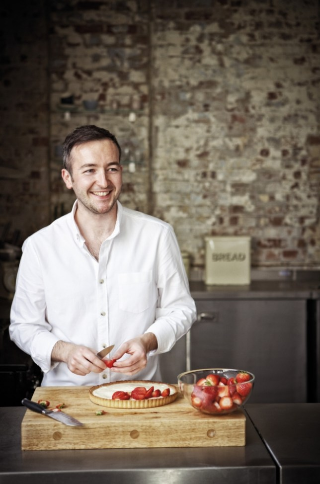 Will Torrent teaches the art of precision baking in his book, Patisserie At Home (Picture: Jonathan Gregson)