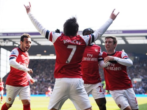 Premier League: Tomas Rosicky double moves Arsenal into top four