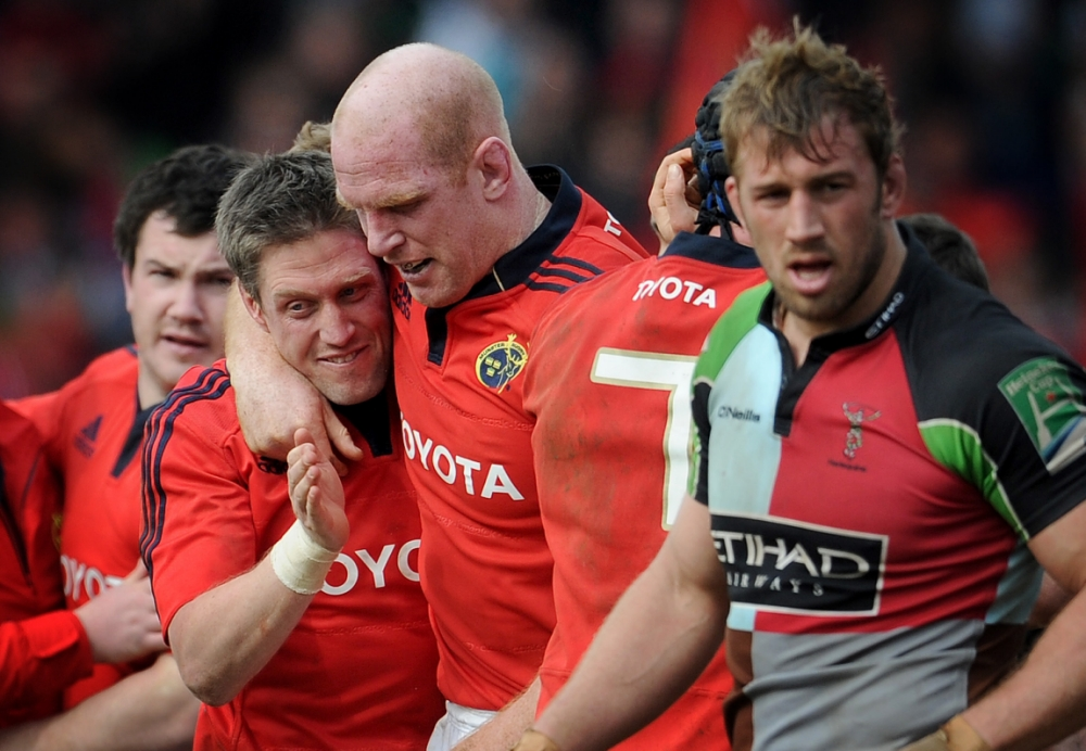 Paul O'Connell stars for masterful Munster against Harlequins