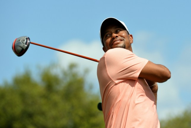 Tiger Woods of the US  during a practice round at the 77th Masters golf tournament at Augusta National Golf Club on April 9, 2013 in Augusta, Georgia.    AFP PHOTO / JEWEL SAMADJEWEL SAMAD/AFP/Getty Images