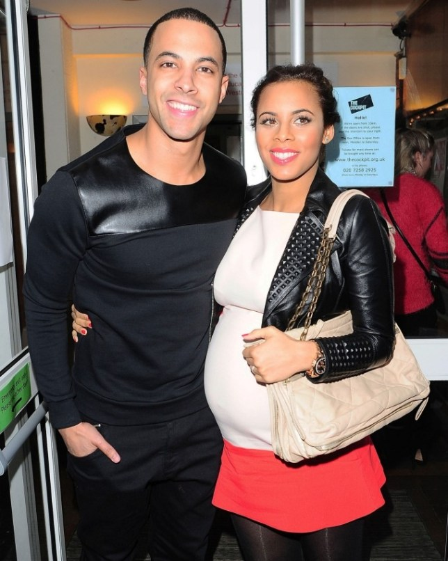 Marvin and Rochelle Humes have welcomed their daughter Alaia-Mai