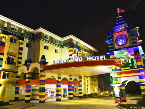 Gallery: Lego hotel opens at theme park in California