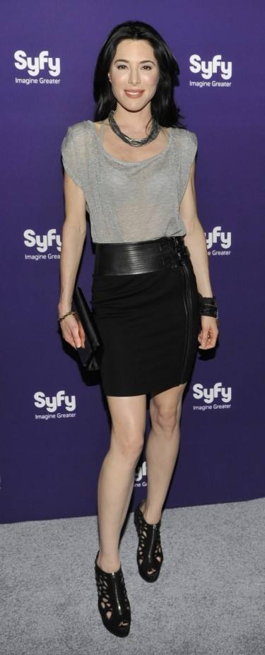Words... super, defiance syfy jaime murray nude excited