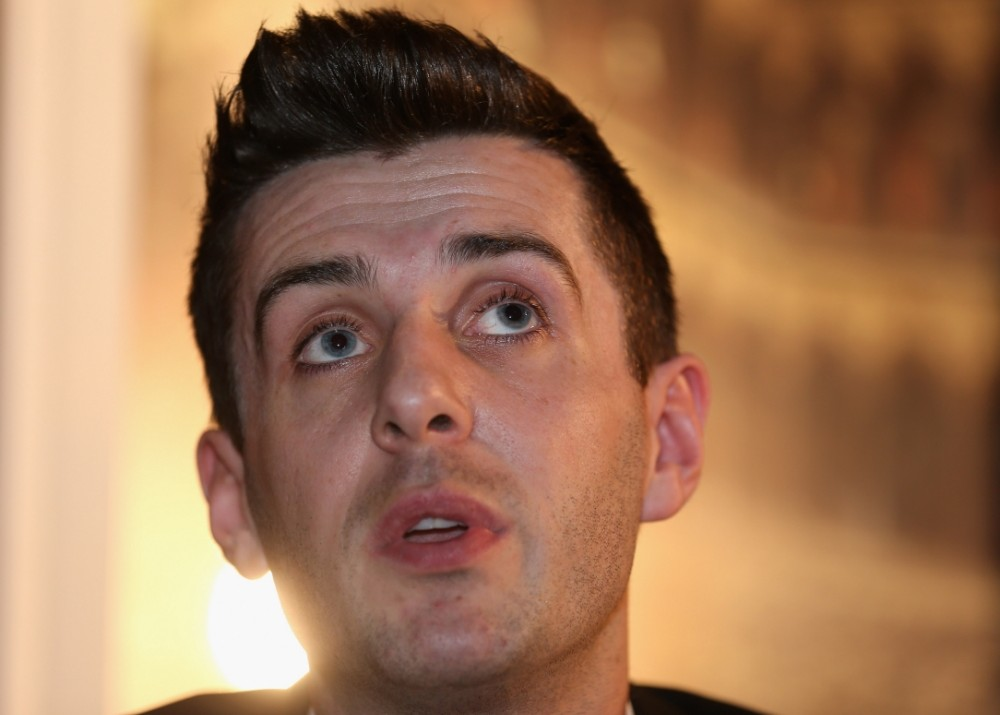 LONDON, ENGLAND - APRIL 15:  Mark Selby of England is pictured during a media launch for the 2013 Betfair World Snooker Championship at The Groucho Club on April 15, 2013 in London, England.  (Photo by Warren Little/Getty Images)