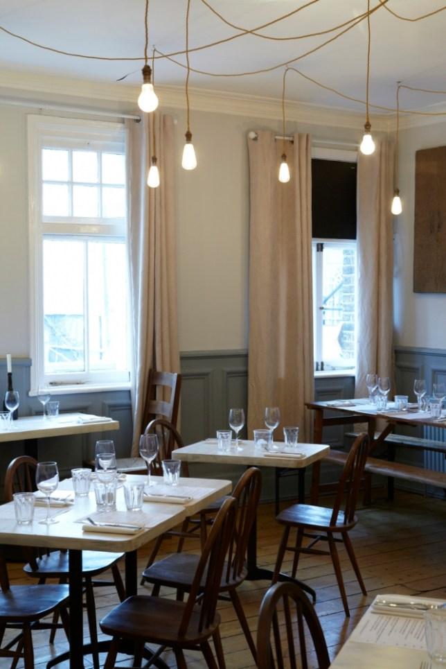 Neighbourhood restaurant Claude's Kitchen changes its seasonal British menu on a weekly basis (Picture: Metro)