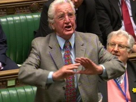 The SNP have gone to war against, er, Dennis Skinner