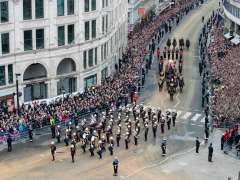 Gallery: Margaret Thatcher funeral service at St Paul's Cathedral
