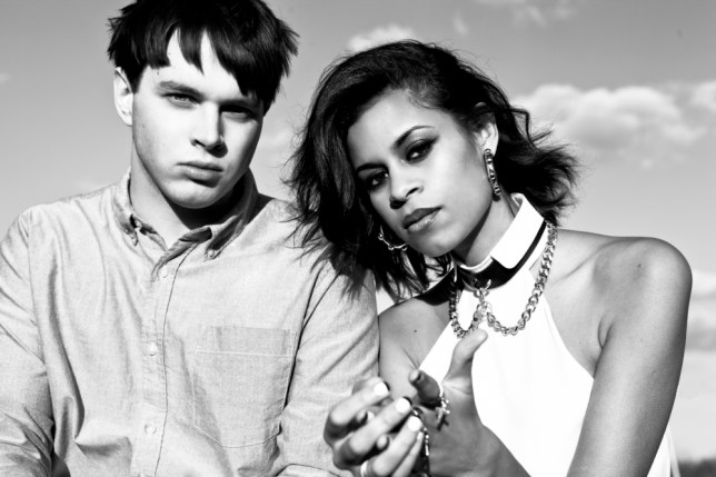 AlunaGeorge don't know how long their fame will last (Picture: Fiona Garden)