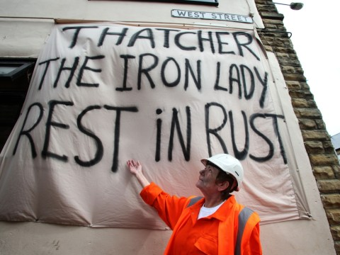 Gallery: Margaret Thatcher funeral protests
