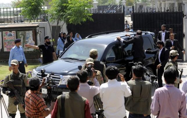 Musharraf escape