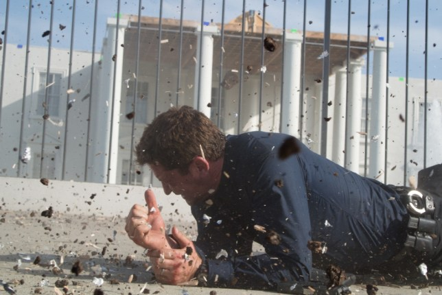 Gerard Butler stars in the over-the-top Olympus Has Fallen (Picture: Millennium Films)