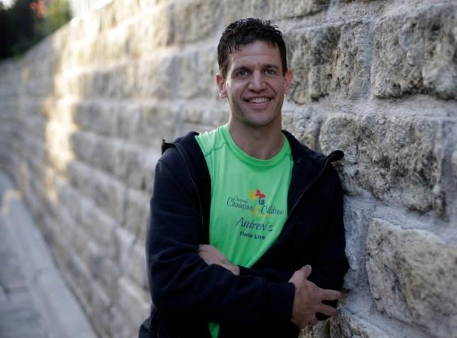 Marathon runner Joe Berti, Boston, Texas