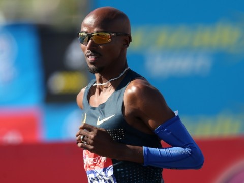 Mo Farah's glass is half full after tasting life in the London Marathon