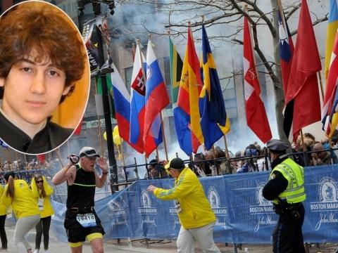 Boston marathon bombings suspect Dzhokhar Tsarnaev responding to questions