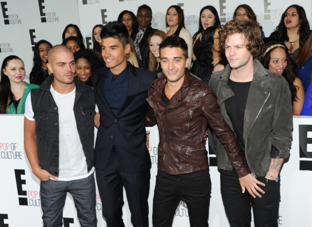 Max George, Siva Kaneswaran, Tom Parker and Jay McGuiness from The Wanted