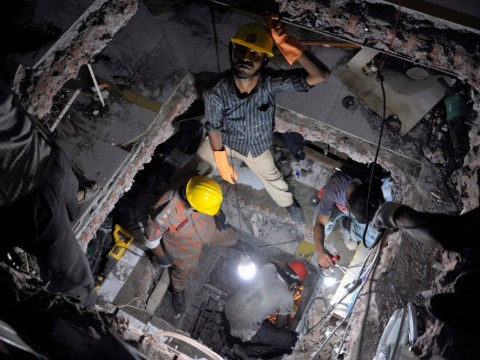 Gallery: Rescue efforts continue at scene of factory collapse in Dhaka, Bangladesh