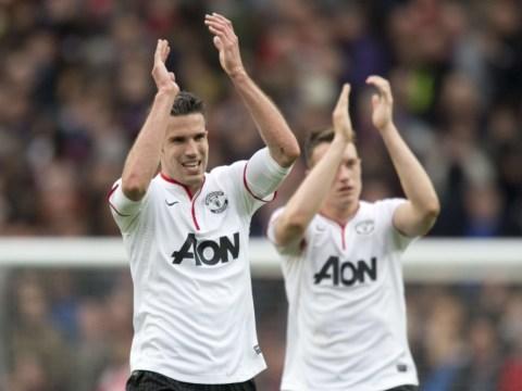 Robin van Persie didn't score against Arsenal, claims Arsene Wenger